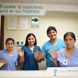 clinica ricardo palma equipo